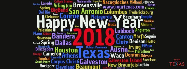Happy 2018 from every little corner of Texas! www.TourTexas.com