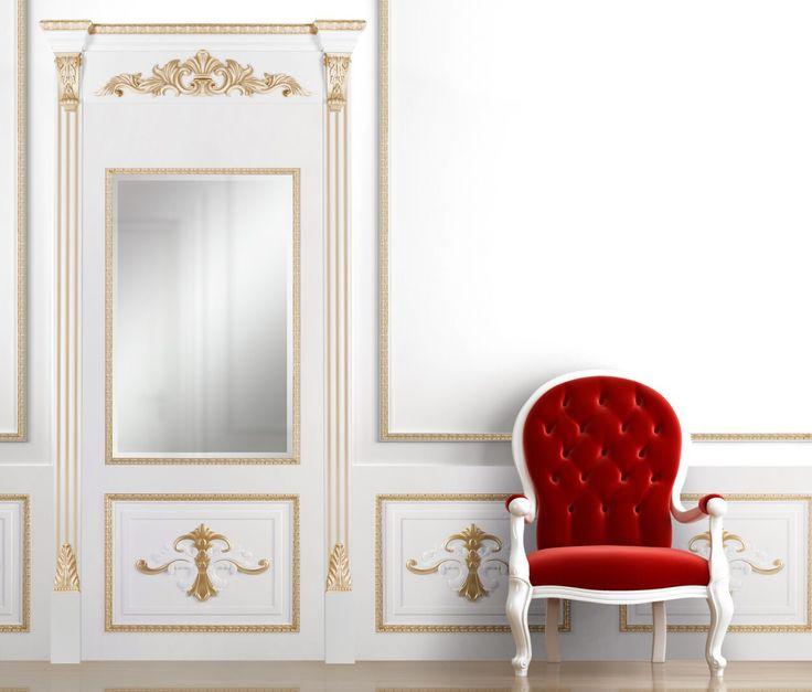 Зеркало в раме RuLes #интерьер #зеркало #декор #люкс #русский_лес