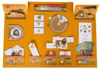 Project Plan: Lion Lapbook - Materials for children in pre-K and kindergarten from KiGaPortal.com