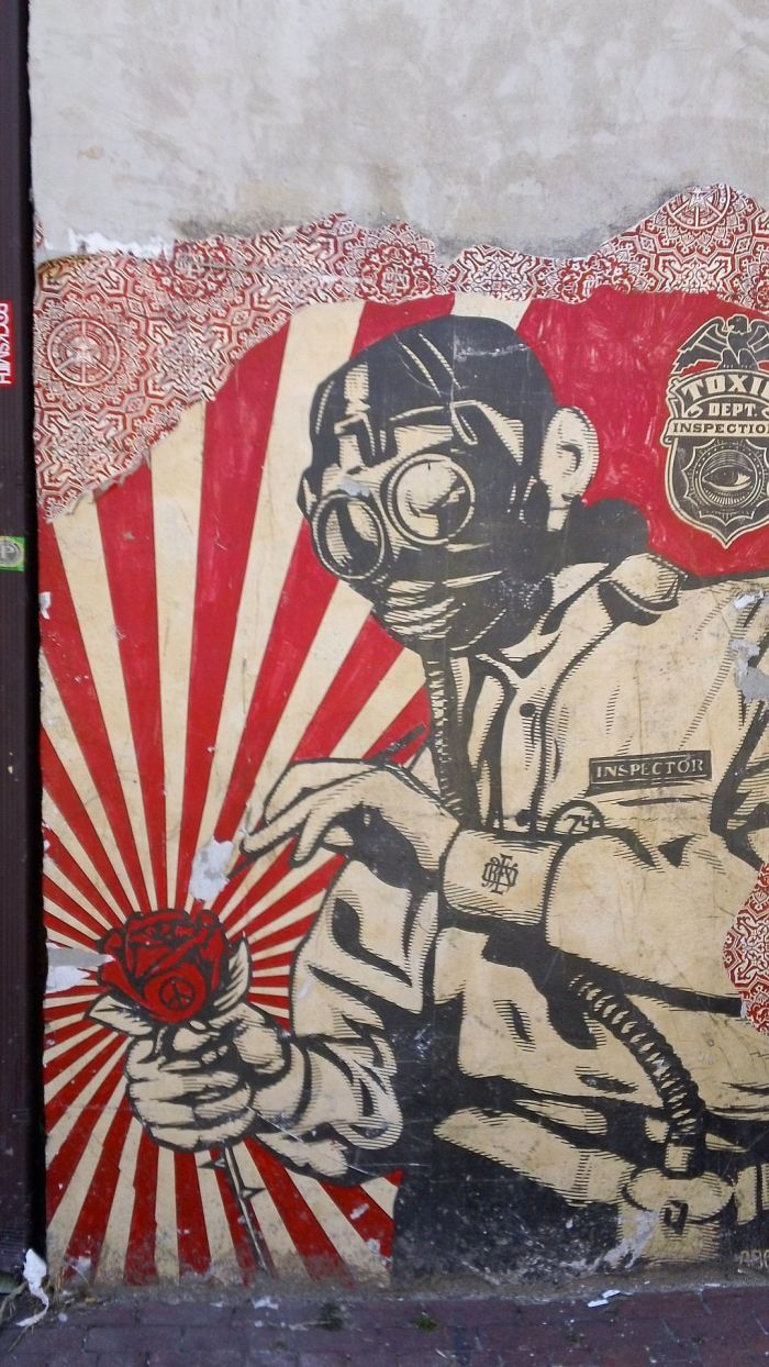 Shepard Fairey graffiti in D.C., photo by Sam Mullany Are you an artist? Are you…