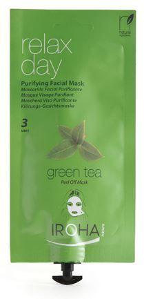 Iroha Facial Peel-Off Creamy Mask Purifying Green Tea .8 fl. oz. Beauty Time- $9.99 on http://www.faceandbodyshoppe.com