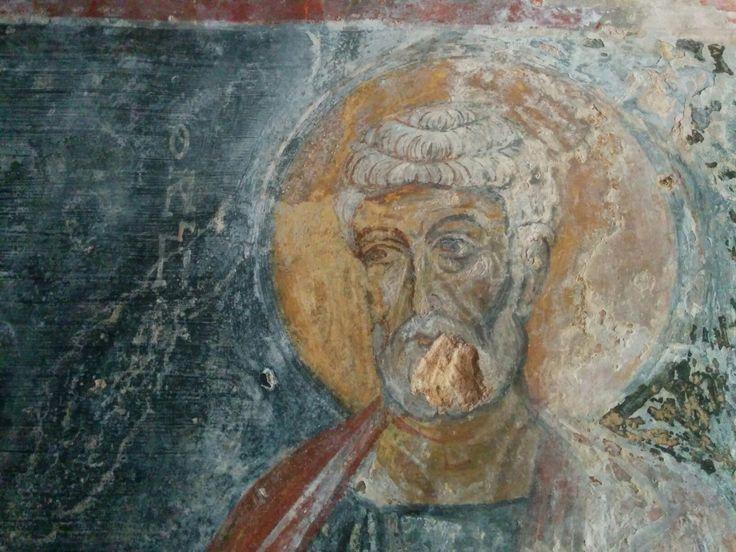 San Pietro nella chiesa rupestre di San Lorenzo a Lama d'Antico  *** Saint Peter in rupestrian church of Saint Lorenzo at Lama d'Antico