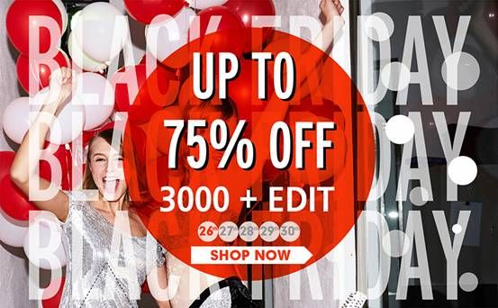 Romwe Black Friday Sale Up to 75% off, over 3000+ styles Biggest discount! Most styles ever! Don't miss, girls! Date: 11/26/2013 -11/30/2013 Go: http://www.romwe.com/Black-Friday-Sale-c-339.html?alicechen