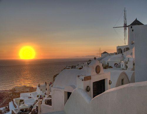 Santorini: Dream Vacation, Favorite Places, Sunset, Greece, Beautiful Places, Places I D, Travel, Greek Islands, Santorini