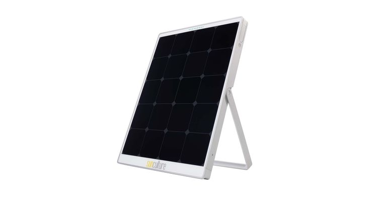 Panneau solaire SolPad intégrant une batterie et un onduleur