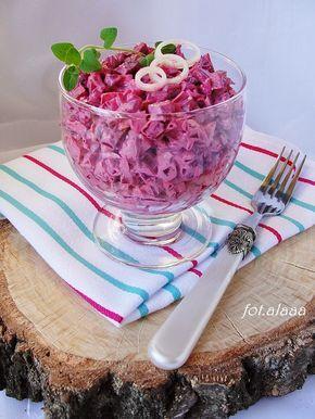 Ala piecze i gotuje: Sałatka z buraczków