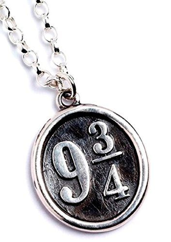 Official Harry Potter Solid Sterling Silver 9 3/4 Necklace