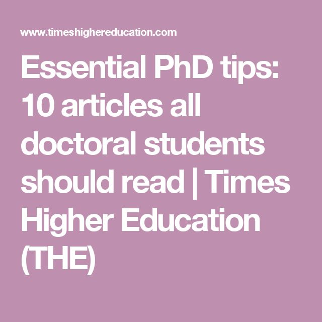 Guidelines writing doctoral dissertation