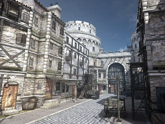 Asset Store - Hollow Medieval Slums Level Pack