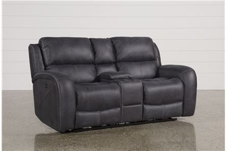 Get Your Daily Dose Of Deluxe With Our Deegan Power Reclining Loveseat,  Which Is Designed