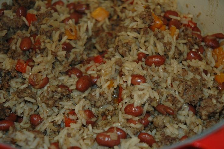 Beans & RiceBeans Rice, Cooking Creations, Vege Recipe, Vegetarian Recipe, Allergies Free, Mr. Beans, Inexpenive Meals, Comforters Food, Allergies Friends