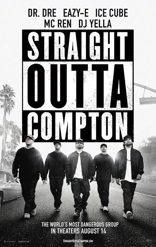 STRAIGHT OUTTA COMPTON movie poster No. 8