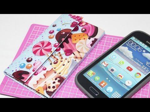 Capinha de Celular com Caixa de Leite Personalizada - DIY - Segredos de Aline - YouTube