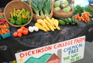 Dickinson College Farm produce