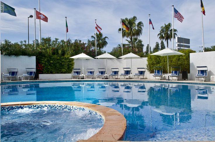 H tel nice avec piscine endroits visiter pinterest - Hotel avec piscine nice ...