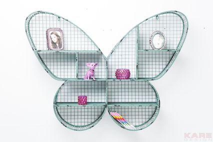 Kare design ~ Wall Shelf Butterfly