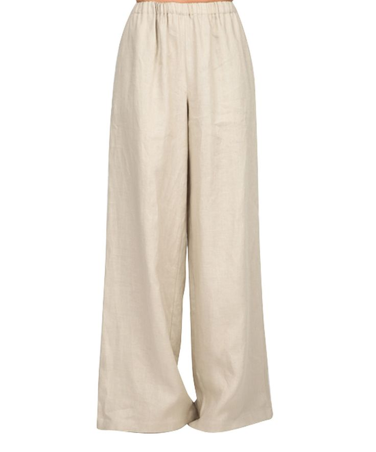 Another great find on #zulily! Carla by Rozarancio Beige High-Waist Palazzo Pants by Carla by Rozarancio #zulilyfinds