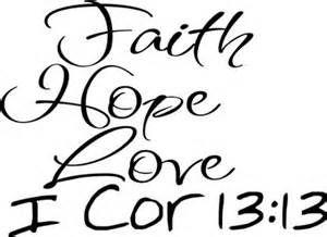 hope love faith wrist tattoos - Bing Images
