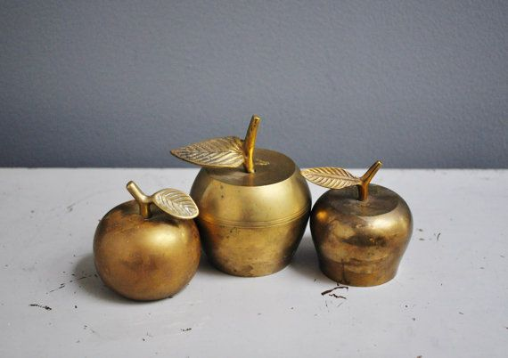 Vintage Brass Bell Collection by thewhitepepper on Etsy