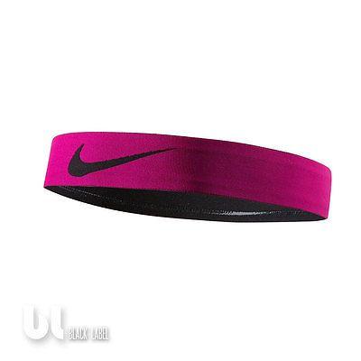 Nike Pro Swoosh Stirnband Headband Herren Damen Kopfband Sport Haarband Rosa ACC