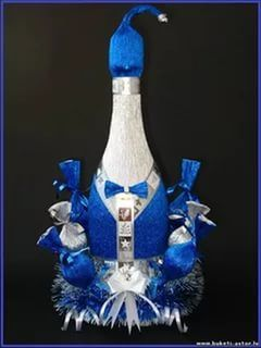 бутылка дама декорирование к новому году: 26 тыс изображений найдено в Яндекс.Картинках