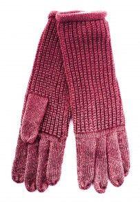Rękawiczki z połyskliwą nitką