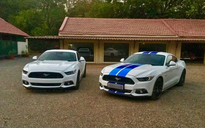 """Because, it's a Mustang.""  Gondal gets its second Mustang GT.  Well, yeah!  #Ford 