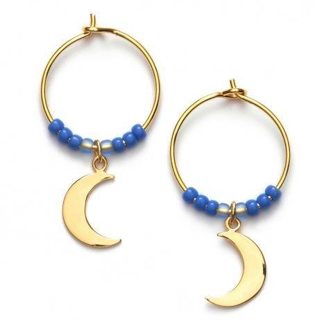 nuécph.com - Anni Lu - Tropical Blue Moon øreringe