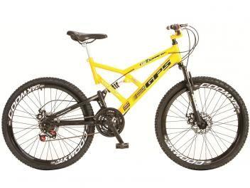 Bicicleta Colli Bike Aro 26 21 Marchas - Dupla Suspensão Freio a Disco