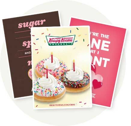 Krispy Kreme: Join the Friends of Krispy Kreme eClub and get a free doughnut and coffee on your birthday