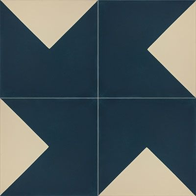 Cement Tiles - Yuma 95 A 8 x 8 Deco - By Granada Tile