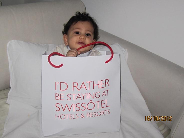 Thanks for sharing this cute baby photo Sami E. https://www.facebook.com/swissotelhotelsresorts/app_477827198902947