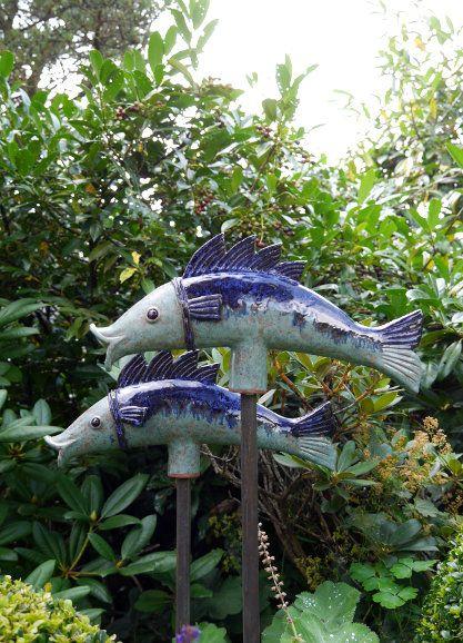 Die 25 besten ideen zu keramik eule auf pinterest clay for Garten fische