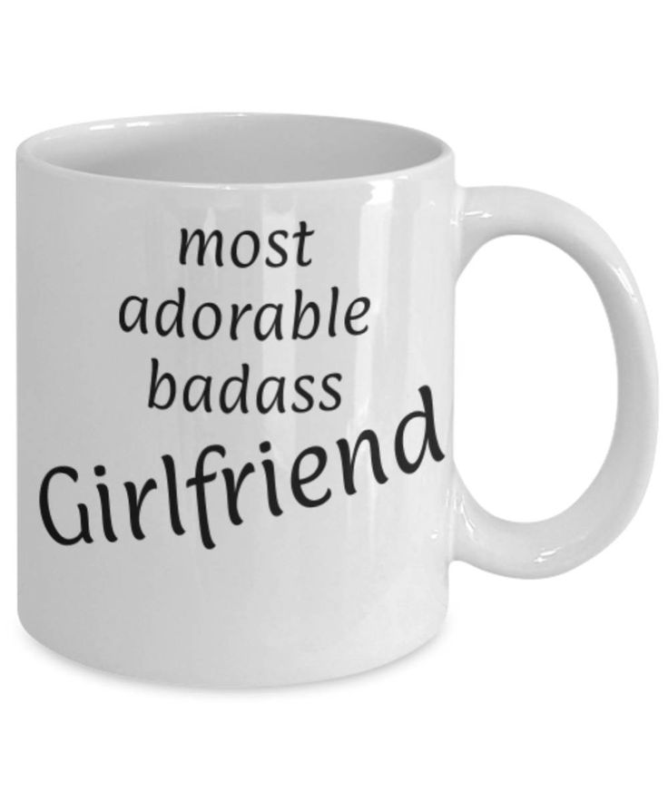 Sweetheart, Partner, Adorable Girlfriend, Funny coffee mug, Christmas gift for Girlfriend, Girlfriend appreciation mug, Gift for her, Love by expodesigns on Etsy