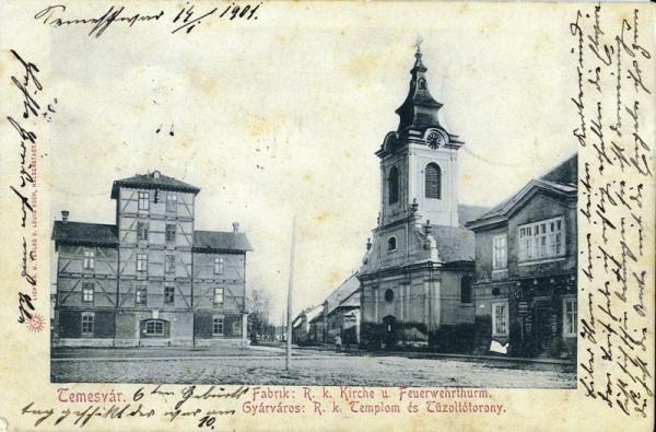 Timisoara - Biserica Greco Catolica . Fabric - 1901