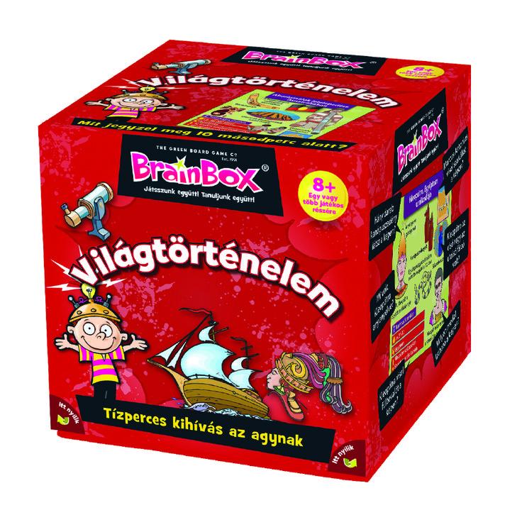 Brainbox- Világtörténelem   Pandatanoda.hu Játék webáruház