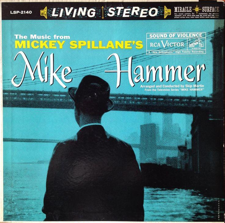 """Skip Martin """"The Music From Mickey Spillane's Mike Hammer"""" 1959 Crime Ja..."""