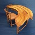 Leon Sadubin, 2001, Wing Writing Table and Chair,NGA Collection