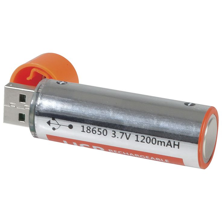 18650 USB Recharge Lithium Polymer Battery - Pack of 2  Jaycar