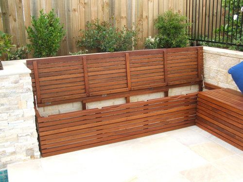 Bench seating with storage