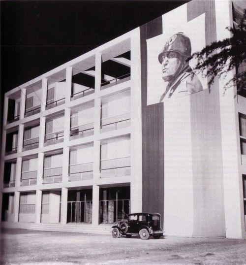 perno-pivot: reverseshot: Giuseppe Terragni - Casa del Fascio - 1936 - Como, Italy una rarità!