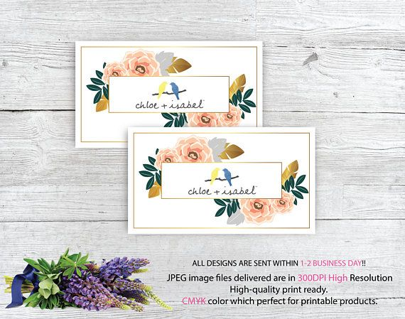 98 best chloe isabel images on pinterest chloe and isabel business card custom chloe and isabel card colourmoves
