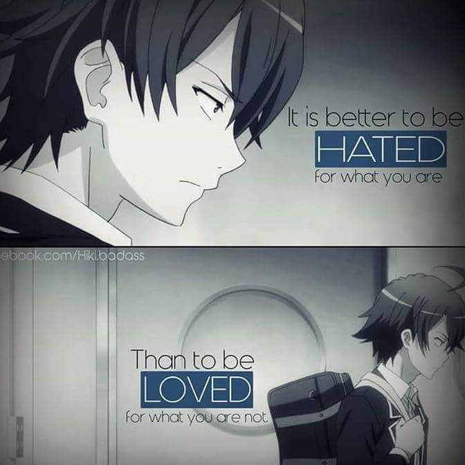 lonely anime quotes wwwpixsharkcom images galleries