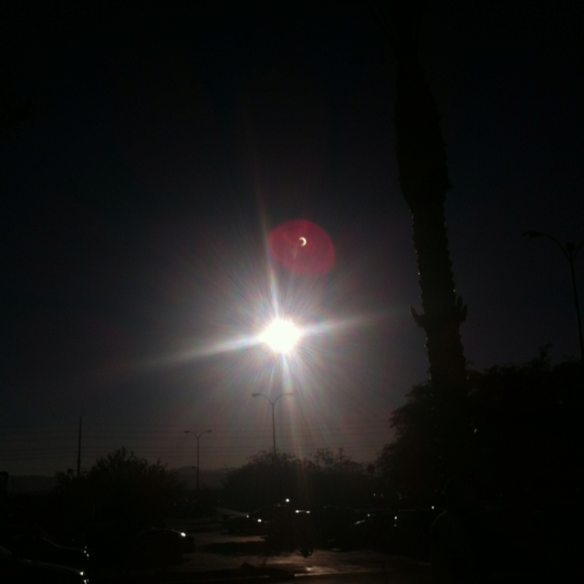 Vegas eclipse Sunday May 20th 2012