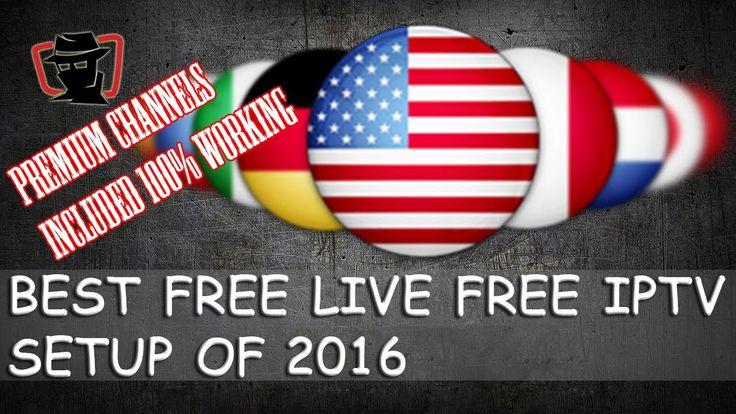 Best Free Live TV IPTV on xbmc/Kodi Addon June 2016  BEST IPTV KODI 2016...