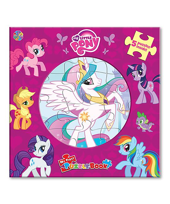 My Little Pony 'My First Puzzle Book' Board Book