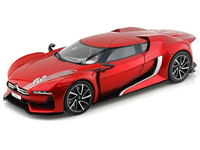 2008 Citroen GT Concept Gran Turismo 1/18 Red Awesome Design