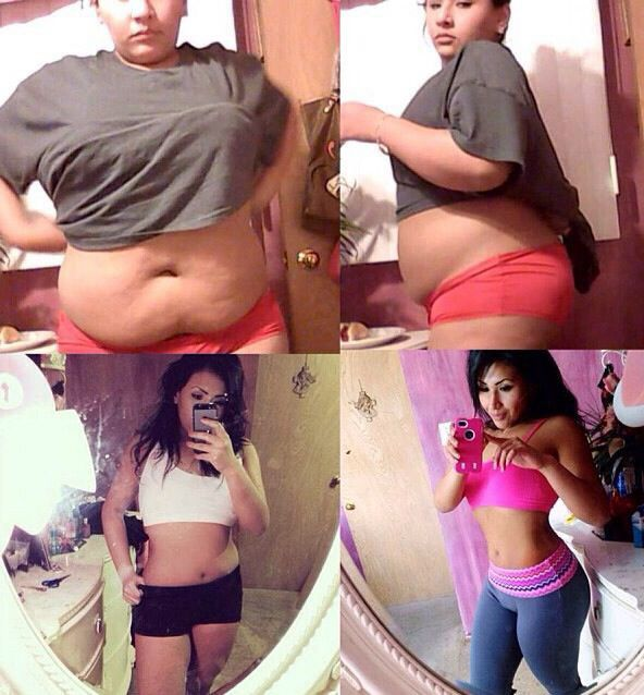 Before and after... Fitness, fit body