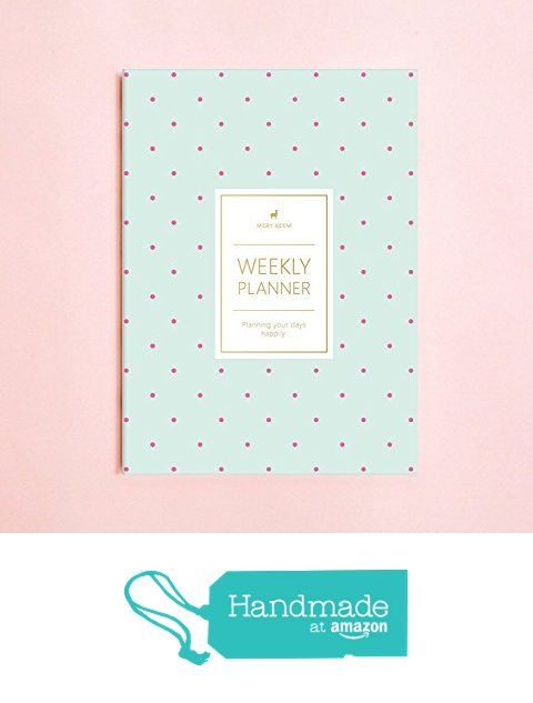 Polka Dot Weekly Planner (Dateless) • 2018 Weekly Notebook • Agenda • Diary • Bridesmaid Gift • Travel Planner • Travel Planner • To do List • Daily Planner • 2017-2018 from Mery Keem https://www.amazon.com/dp/B01D14Q20S/ref=hnd_sw_r_pi_dp_JagFzbR0APYHK #handmadeatamazon