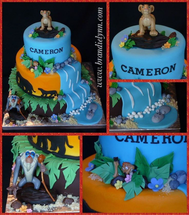 1000+ ideas about Lion King Cakes on Pinterest Lion King ...
